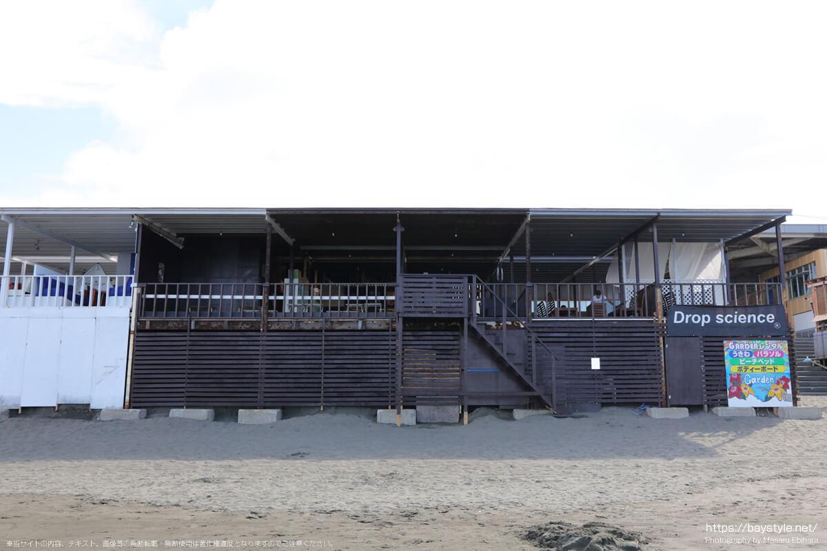 GARDEN(ガーデン)(片瀬西浜海水浴場の海の家:2021年7月21日撮影)