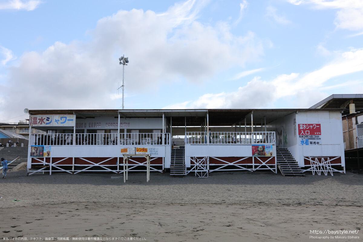 ニュー鈴屋(片瀬西浜海水浴場の海の家:2021年7月21日撮影)