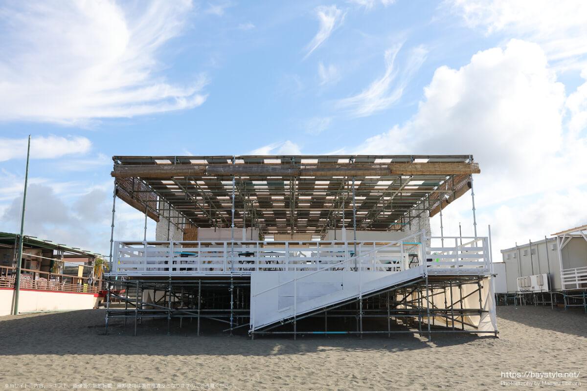 LOCOHAL01(鵠沼海岸の海の家:2021年7月21日撮影)