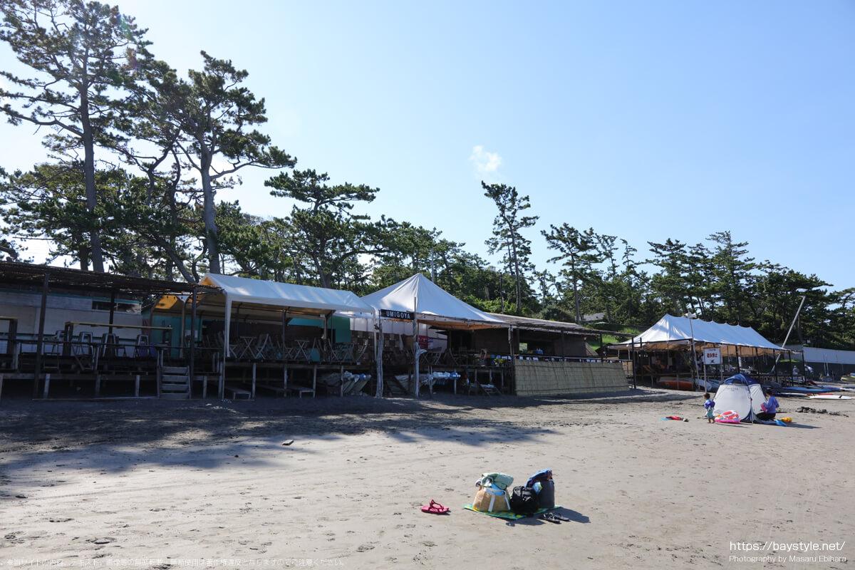 UMIGOYA(一色海水浴場海の家:2021年7月22日撮影)
