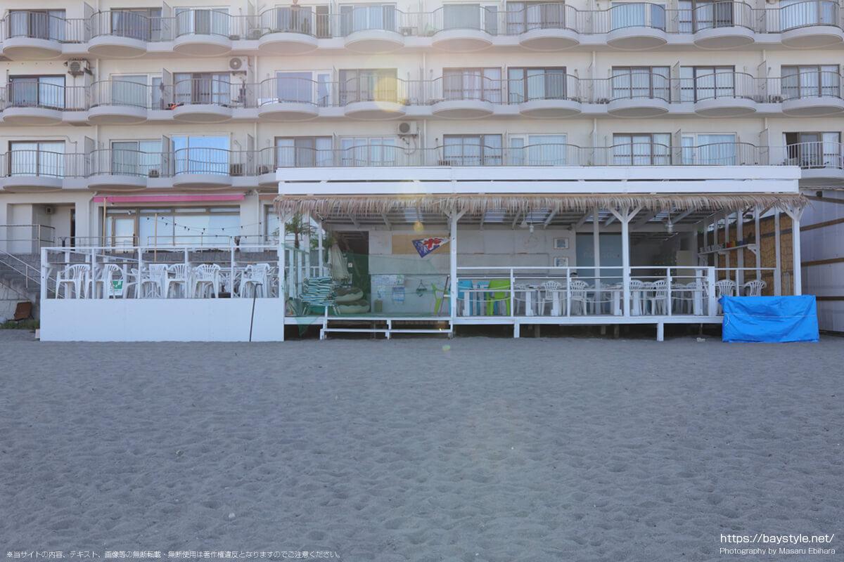 noanoa(森戸海岸海水浴場海の家:2021年7月22日撮影)