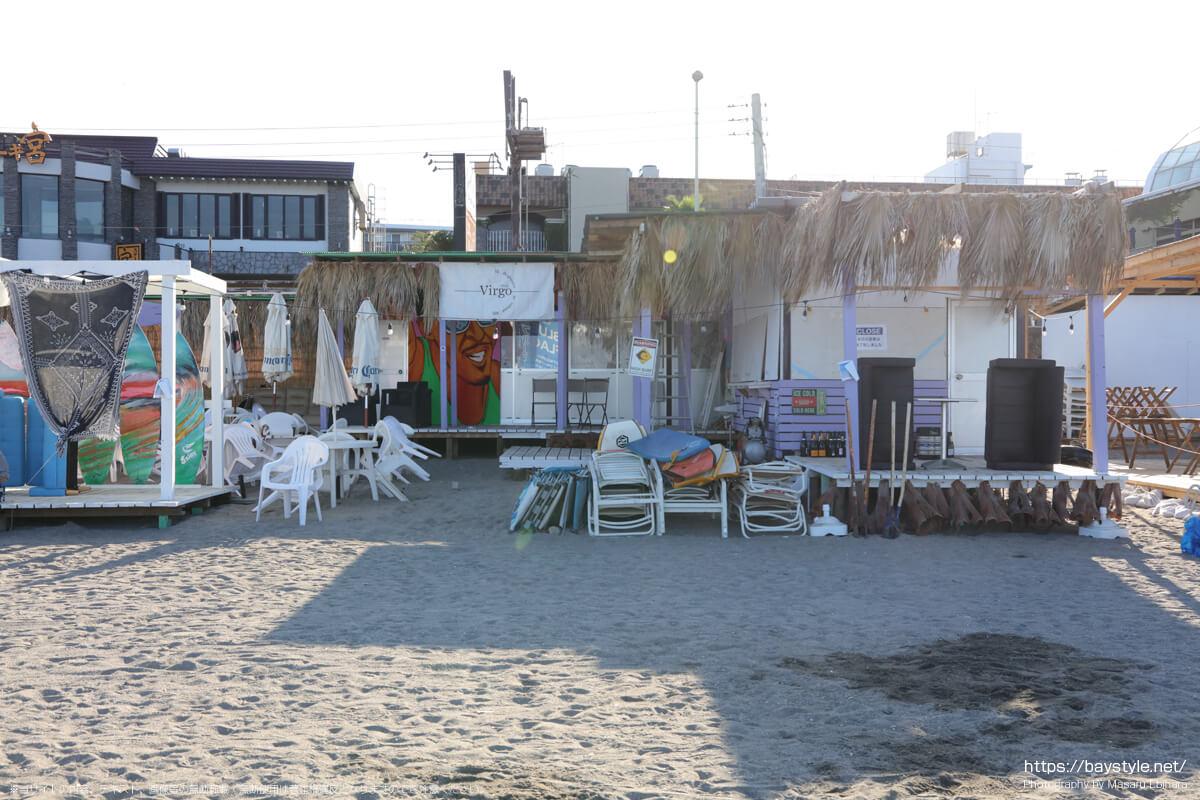 Virgo(ヴァルゴ)(逗子海岸の海の家:2021年7月22日撮影)