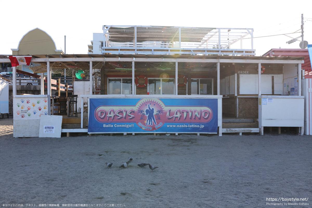OASIS LATINO(オアシスラティーノ)(逗子海岸の海の家:2021年7月22日撮影)