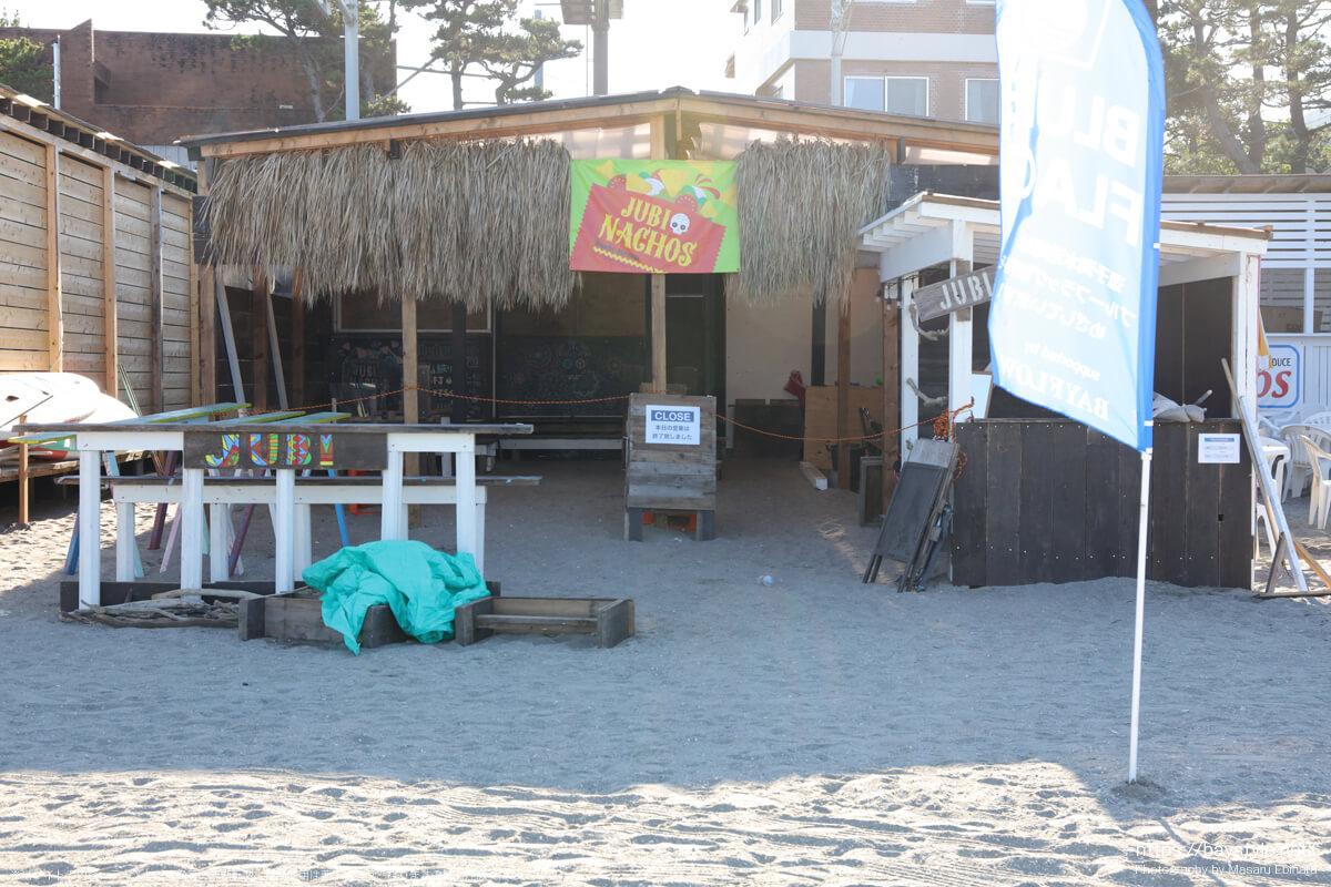 JUBI(ジュビ)(逗子海岸の海の家:2021年7月22日撮影)